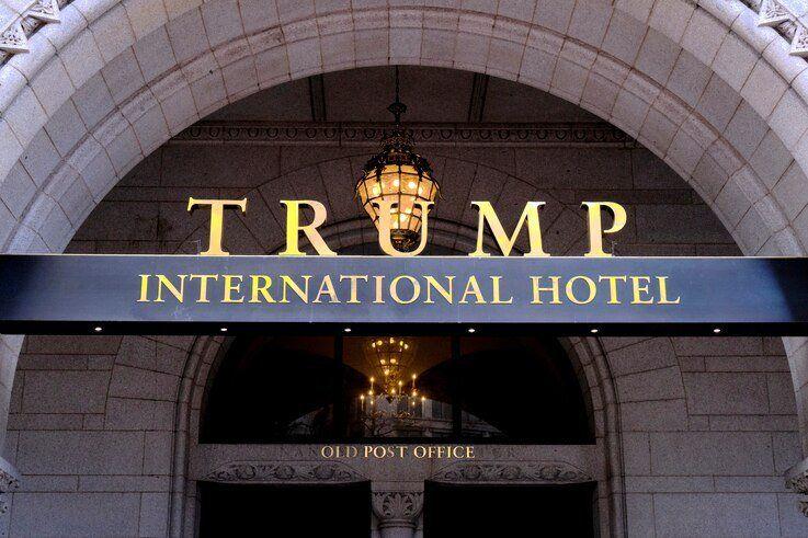 FILE - The Trump International Hotel is seen in Washington, March 11, 2019.