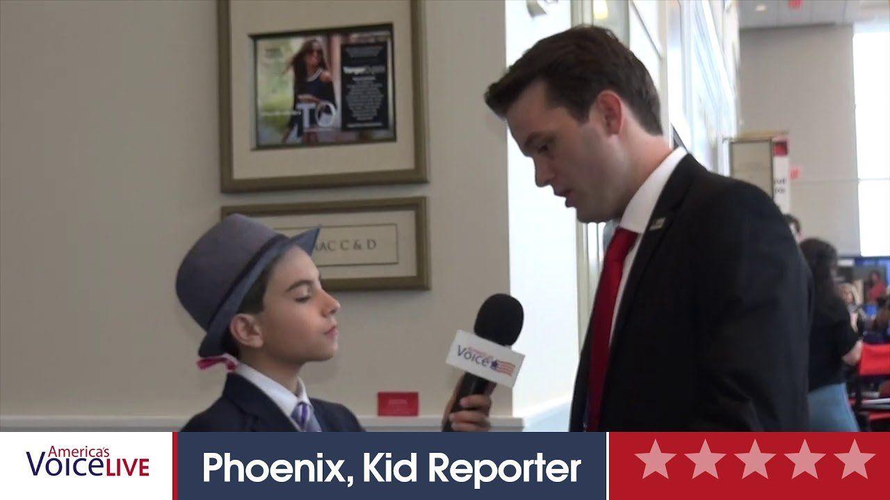 Hayden Williams And Phoenix Kid Reporter Interview