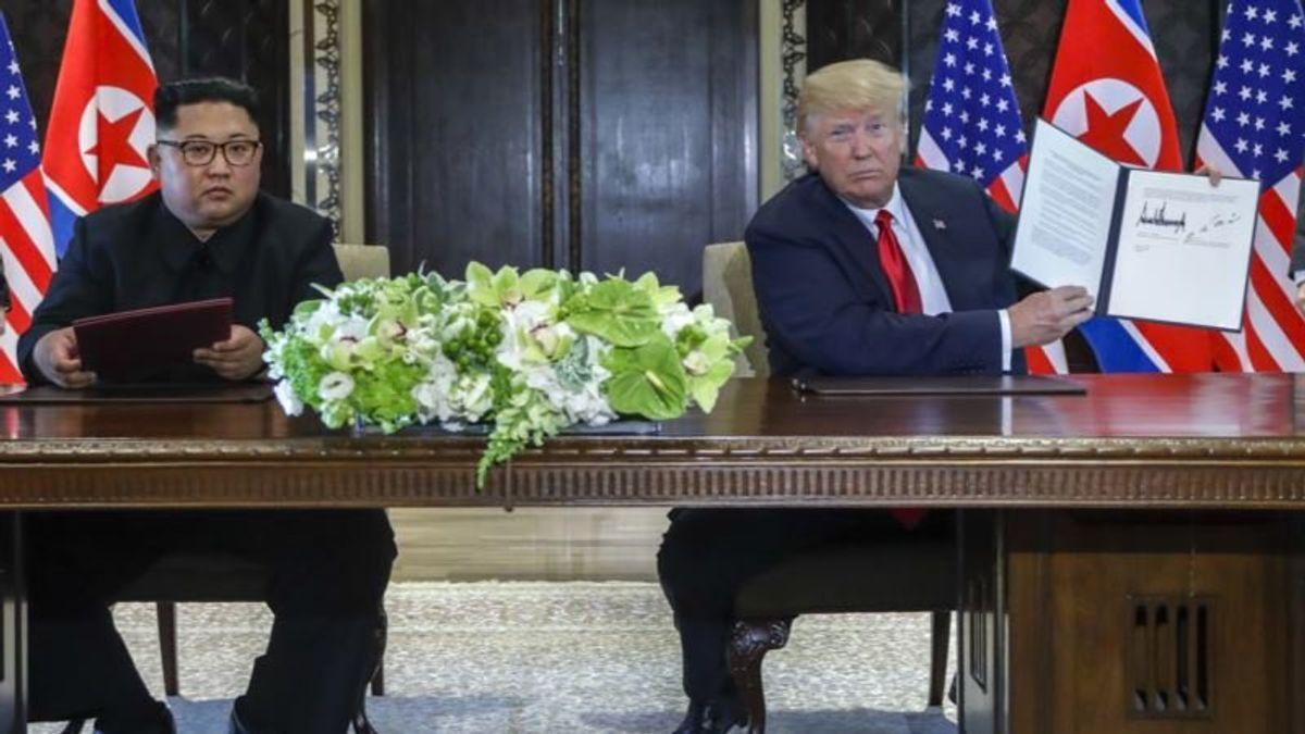 Trump 'Appreciates' Signs N. Korea Dismantling Launch Site