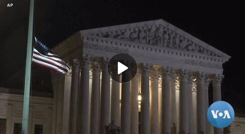 Supreme Court Justice Confirmation Flashpoint for Trump, Biden