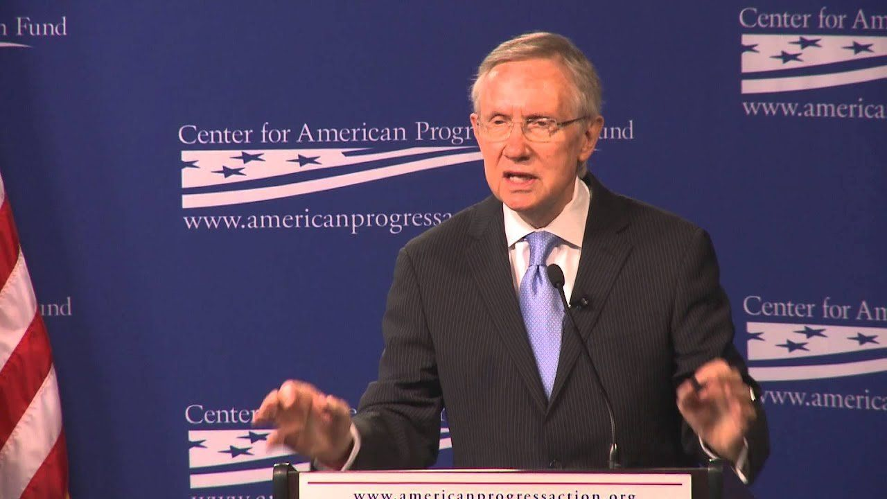 Harry Reid sets the stage for a filibuster battle