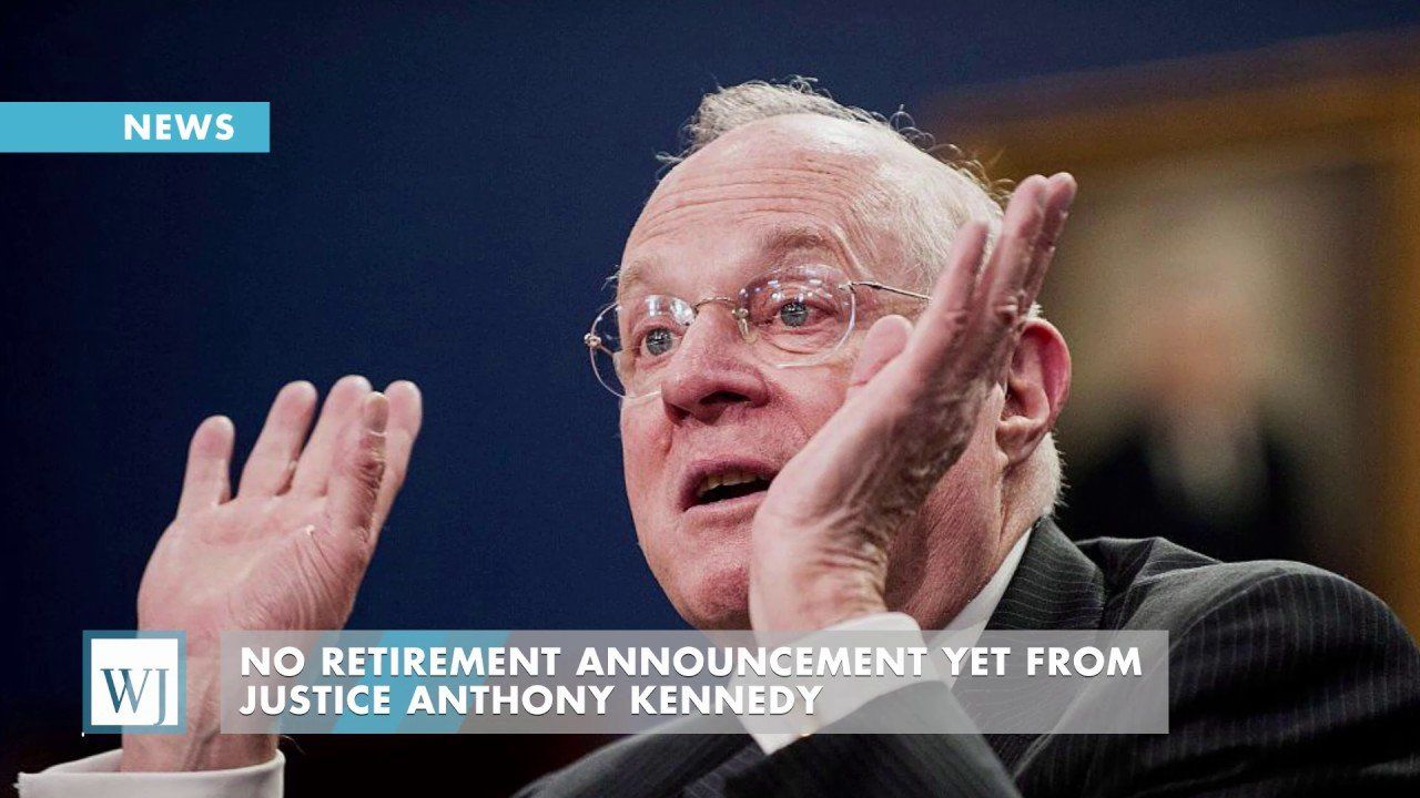 Justice Kennedy's long-term future on the court remains in question…