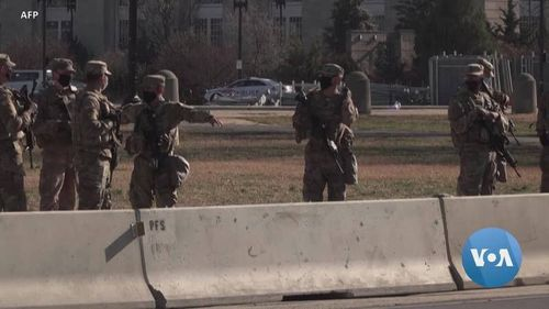 Tight Security Surrounds Scaled-back Presidential Inauguration