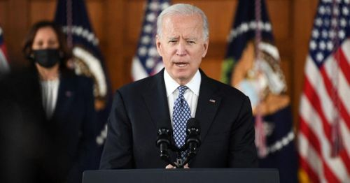 Biden holds first call with Ukrainian president as concerns grow over Russian military presence