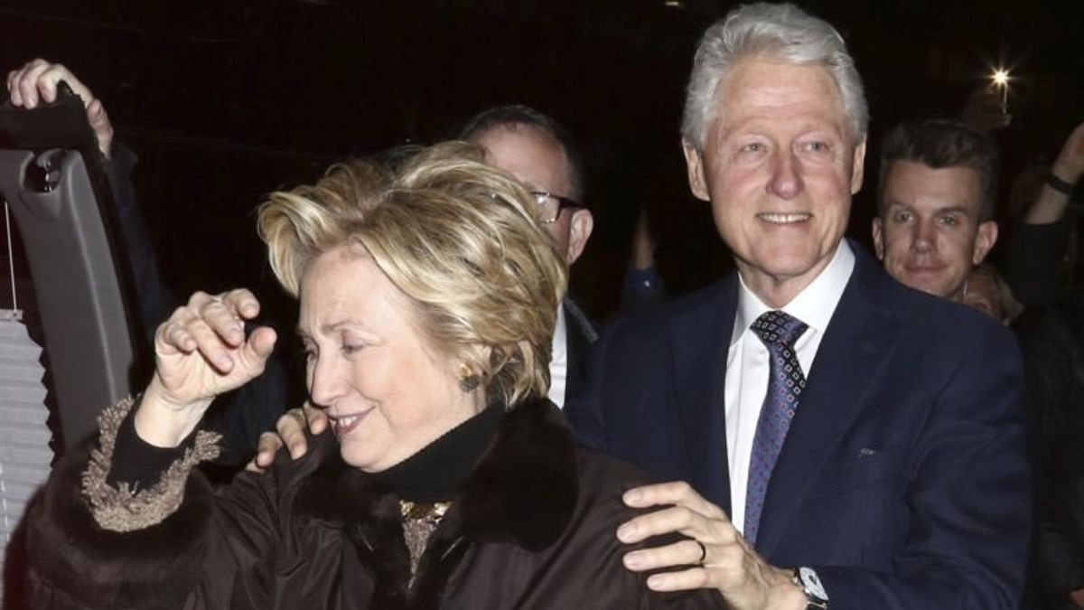 Suspected Explosive Device Found Near Home of Clintons