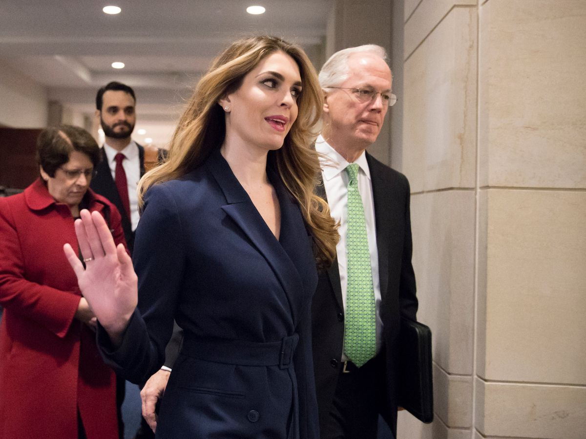 With Hope Hicks Interview, Dems Breach Trump's Inner Circle