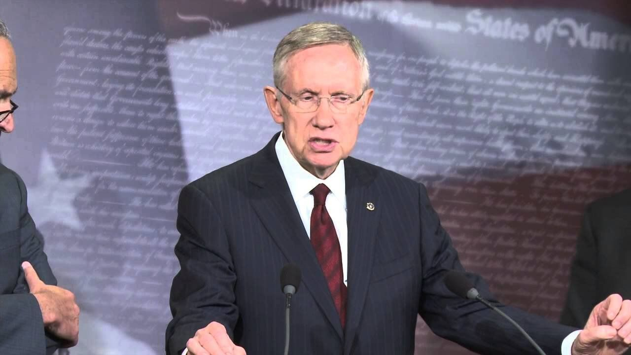 Sen. Harry Reid discusses issues Congress must pass during lame-duck session