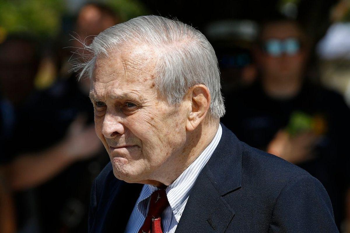 Family: Former Defense Secretary Donald Rumsfeld Dies at 88