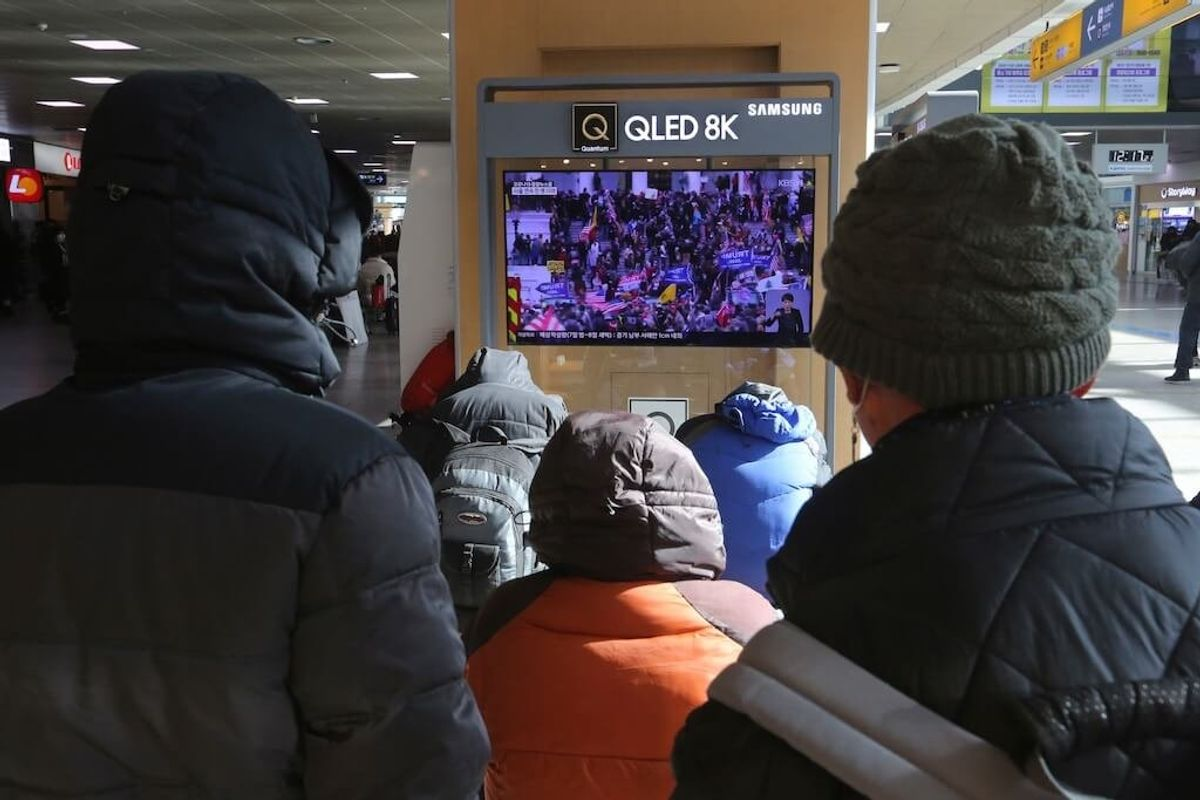 South Koreans Confused, Disgusted at US Election-related Violence