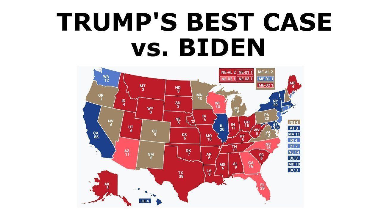 Best Case for Trump in 2020 vs. Biden