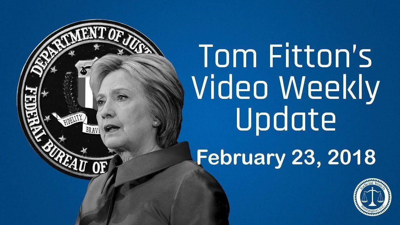 'FBI Caught in ANOTHER Clinton Scandal Cover-Up' – JW President Tom Fitton