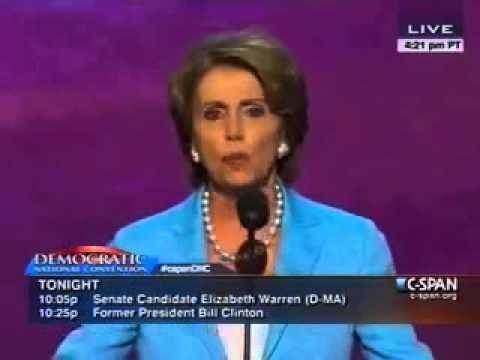 Nancy Pelosi: 'President Obama has been focused on jobs since day one'