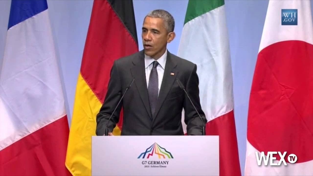 Obama: Russia in recession because of Ukraine sanctions