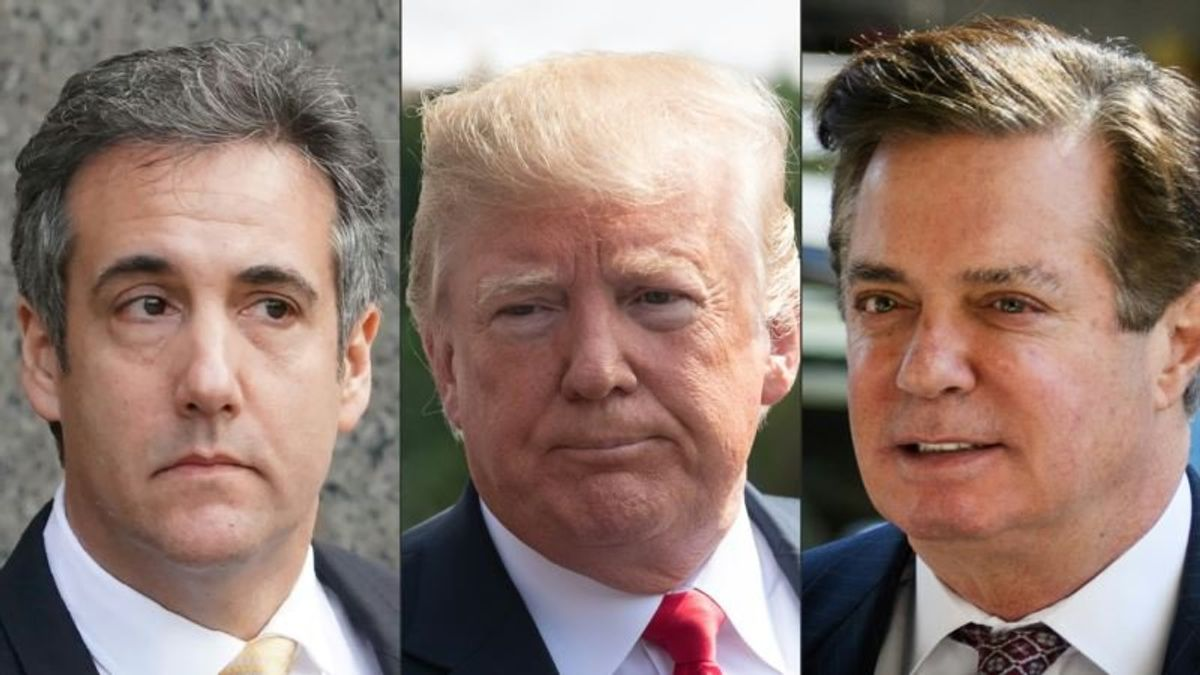 Trump Downplays Ex-Campaign Manager, Personal Lawyer Becoming Felons
