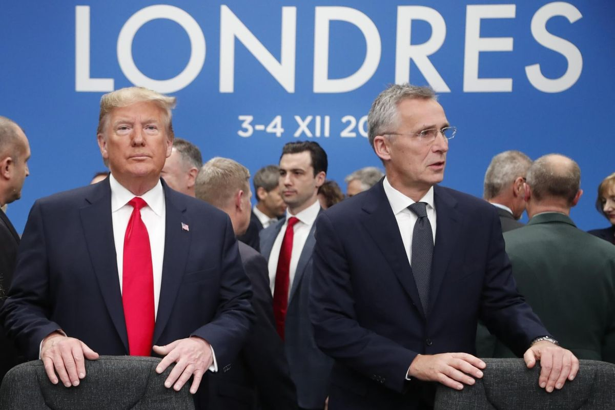 NATO Leaders Present United Front Amid Bitter Differences