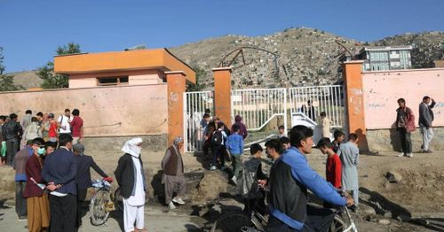 Dozens dead following bombing outside of a school in Afghanistan