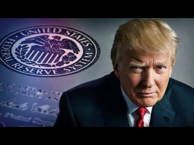 WHILE EVERYONE FOCUSES ON THE WALL, TRUMP JUST CRIPPLED THE GLOBAL BANKING CARTEL! IS THE FED NEXT?