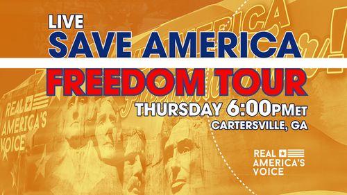 SAVE AMERICA FREEDOM TOUR - CARTERSVILLE GA