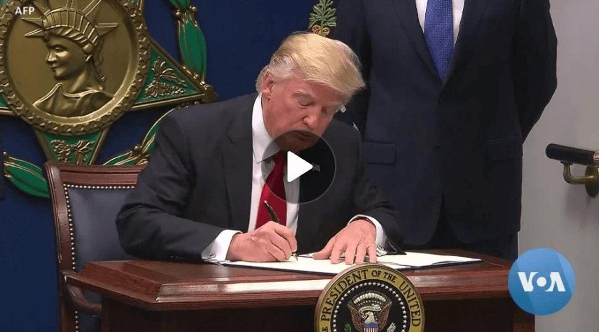 Biden, Like Trump, Embraces Presidential Executive Orders