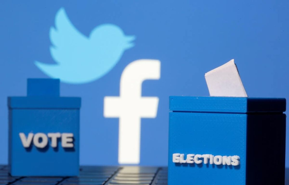 Twitter, Facebook Flag Misleading Comments About US Election