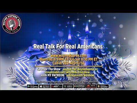 🔥 LIVE! WDShow 12-23 Our Christmas Show! 202 470 6738