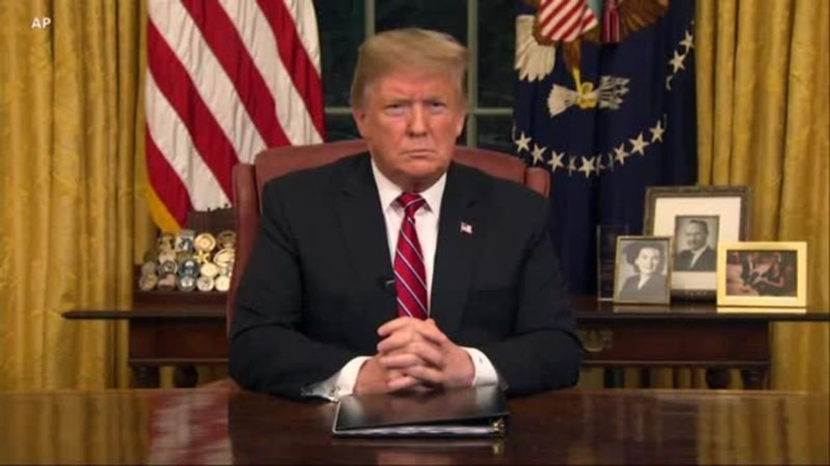 President Trump Addresses Nation About Southern Border