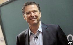 Former FBI Director James Comey begins book tour in support of new memoir 'A Higher Loyalty: Truth, Lies, and Leadership', published by Flatiron Books yesterday.