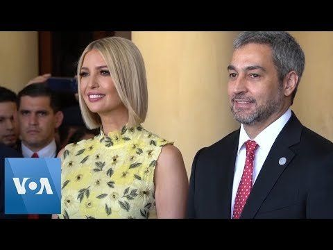 Ivanka Trump Visits Paraguay, Meets with Paraguay's President