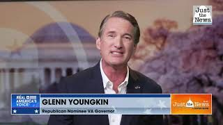 GOP gubernatorial nominee Glenn Youngkin sees economy and education as key issues in VA Gov. race