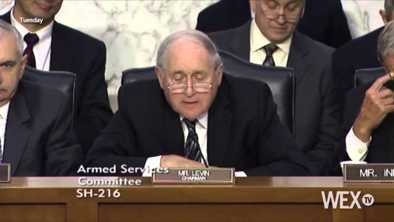 Sen. Carl Levin goes off on anti-war protesters