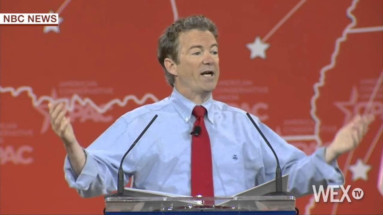 Rand Paul slams Hillary Clinton at CPAC