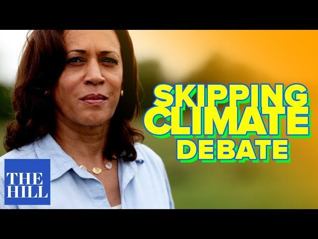 Panel: Harris plans to skip climate debate