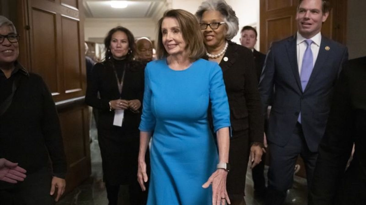 Pelosi Nominated by Democrats to Be US House Speaker