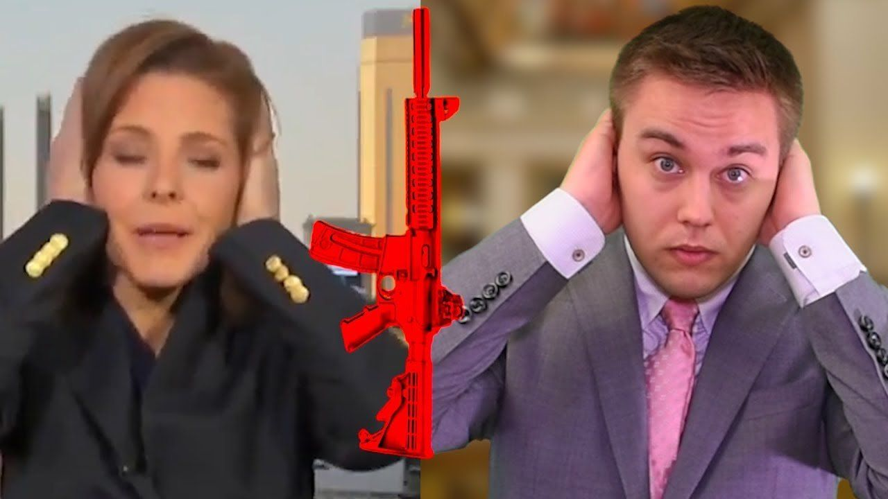 One hour after a tragedy the liberal media condemns guns, but here's what they don't know.