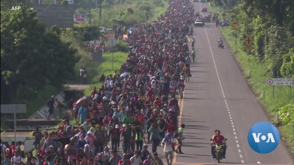 Trump Demands Border Wall in Speech
