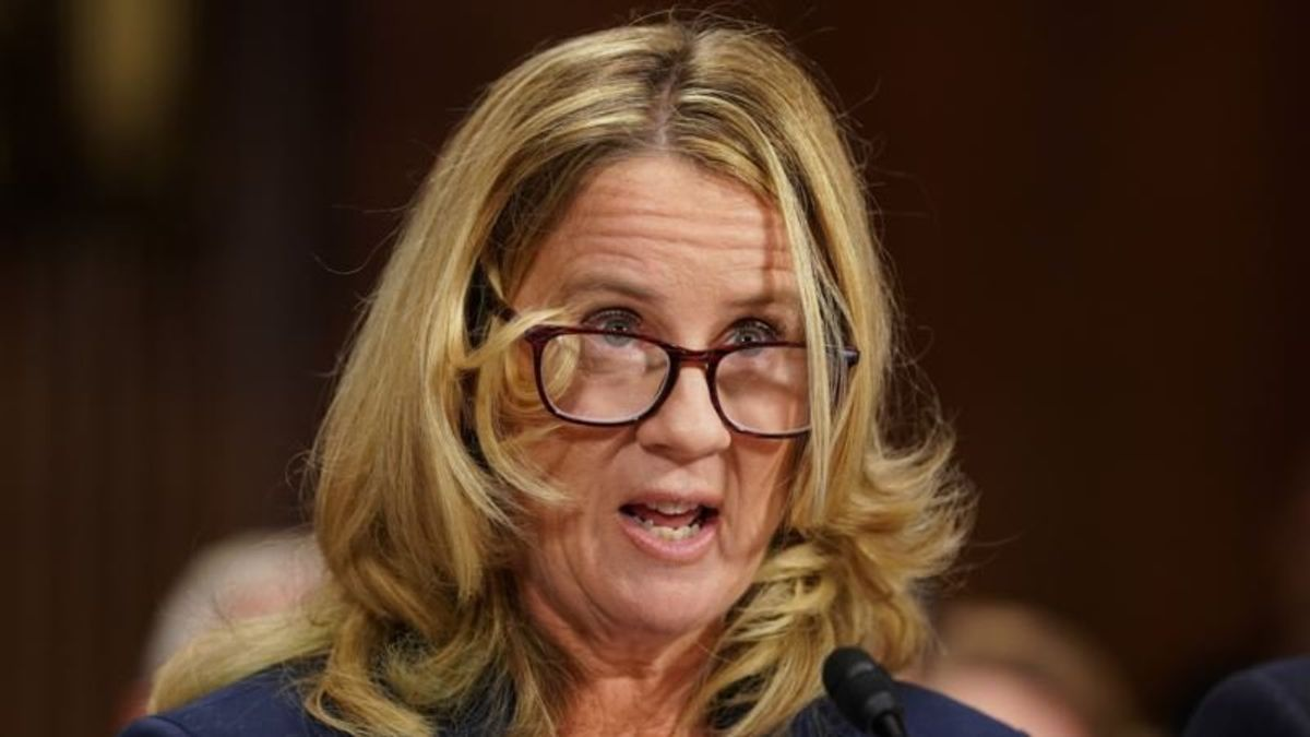 Kavanaugh Accuser '100 Percent' Certain Who Sexually Assaulted Her