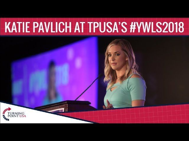 Katie Pavlich At TPUSA's Young Women's Leadership Summit 2018