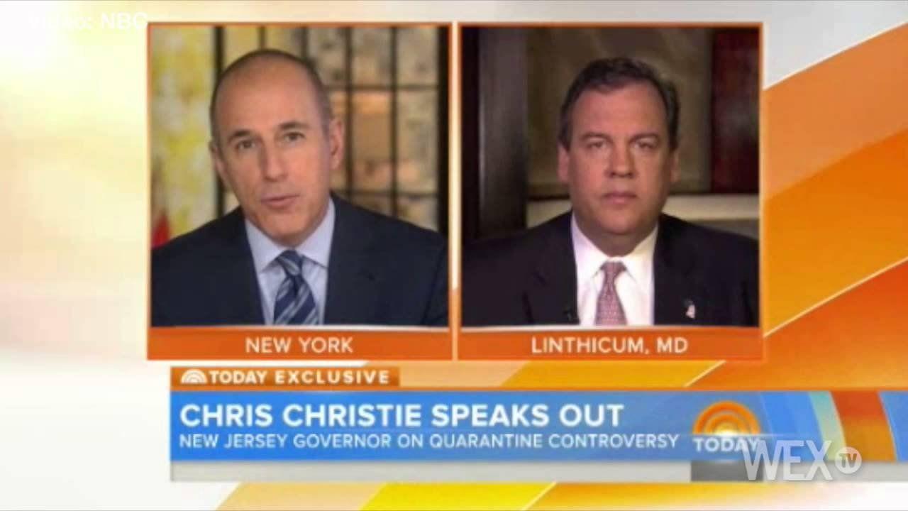 Christie slams CDC, defends Ebola quarantines