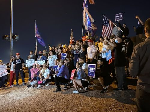 Protests in Several US Cities as Presidential Vote Remains Undecided