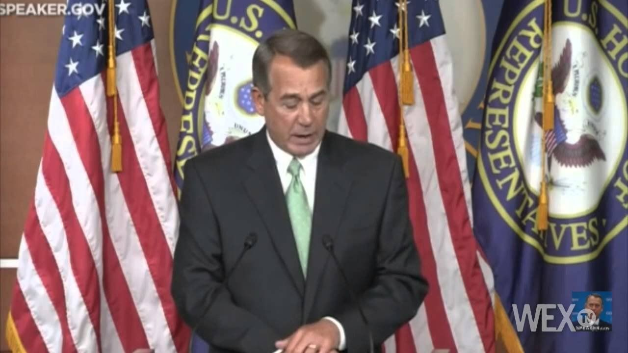 Boehner: We need a new strategy to fight Islamic State