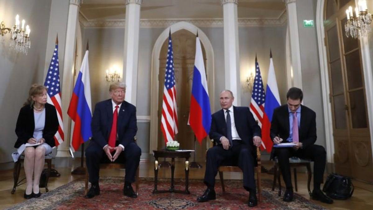 Senate Democrats Seek Translator's Notes From Trump-Putin Summit