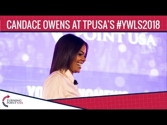 Candace Owens At TPUSA's Young Women's Leadership Summit 2018
