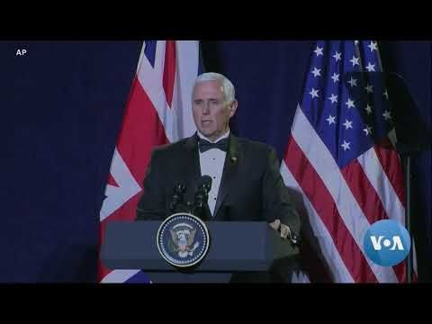 Pence Conveys Trump's Strong Support for Johnson's Brexit