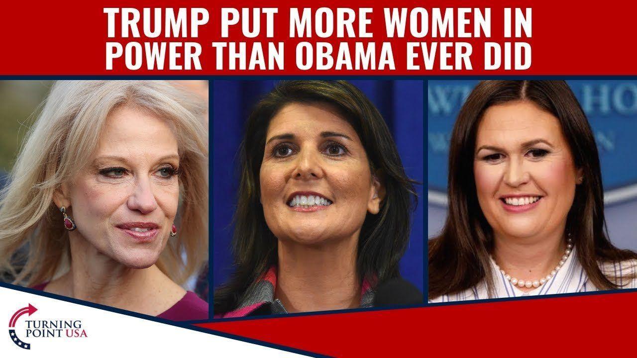 Pres. Trump SUPPORTS Women!