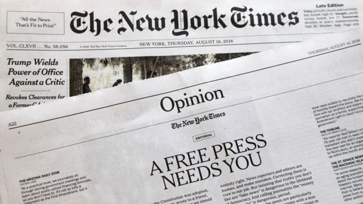 Man Charged with Making Death Threats Over Free Press Editorials