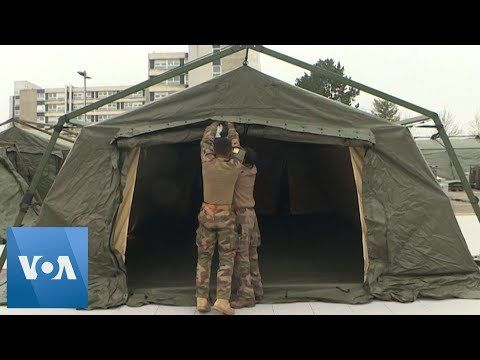 Coronavirus Update: French Troops Set Up Field Hospital in Mulhouse
