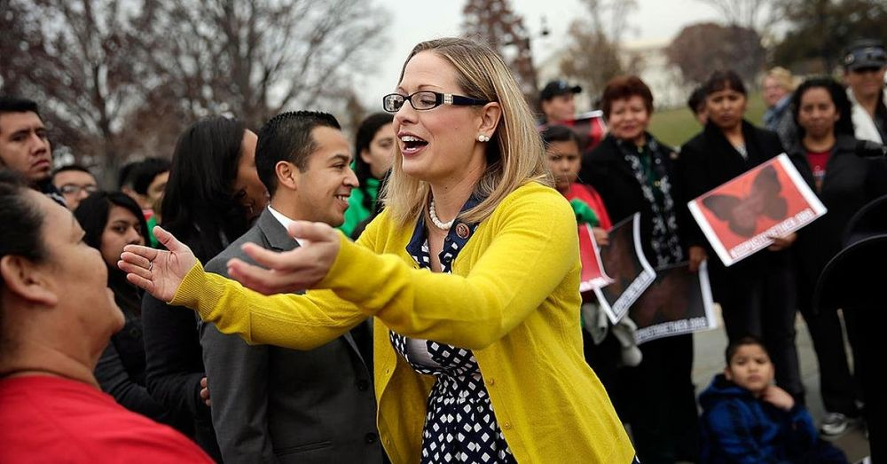 Arizona college police ask county attorney for misdemeanor charges for activists who stalked Sinema