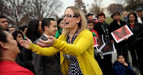 Five members of Sinema's veterans advisory board resign over opposition to reconciliation bill