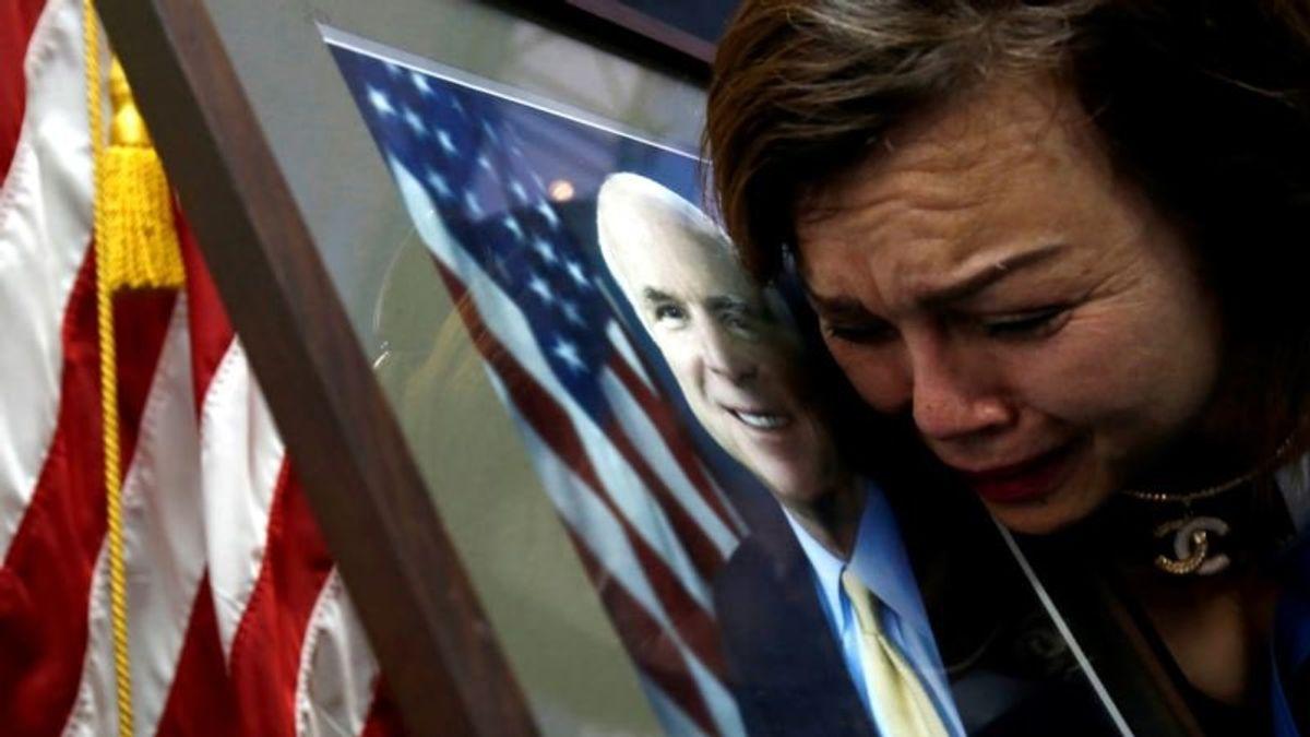 Senator John McCain Praised Overseas