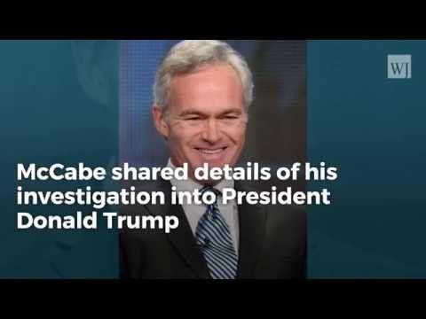 McCabe Confirms DOJ Discussed Removing Trump – Report